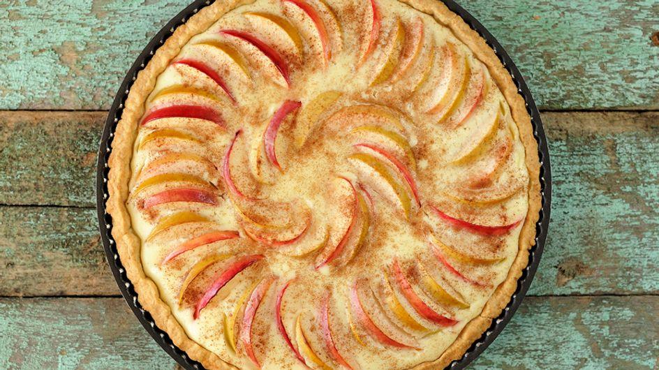 Descubre la forma más fácil de preparar tarta de manzana