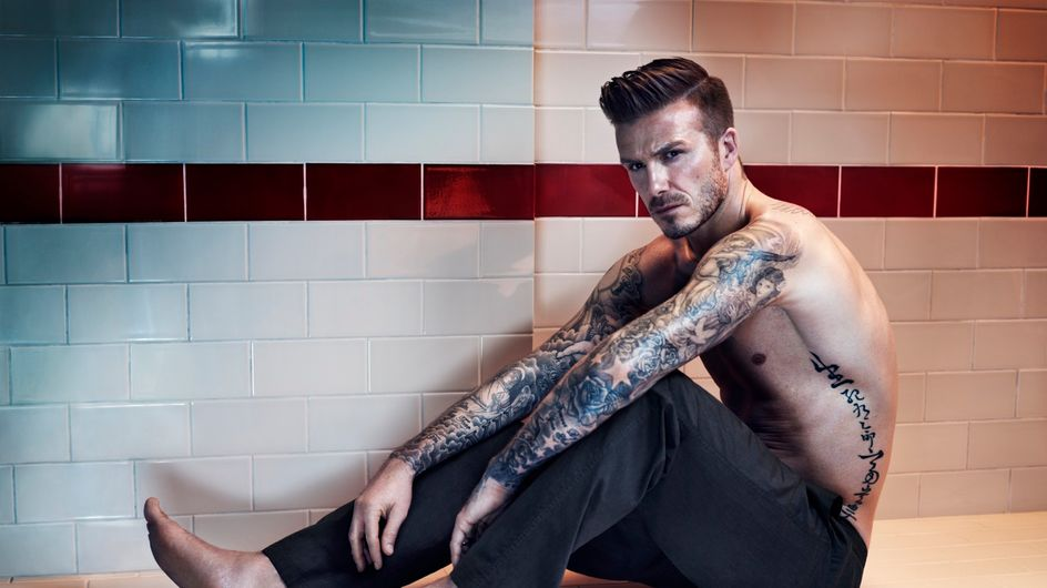 Las imágenes que justifican que David Beckham es el hombre más sexy del mundo
