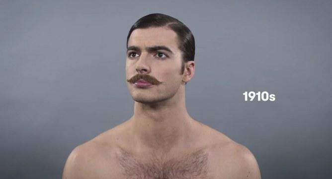 100 años de belleza masculina