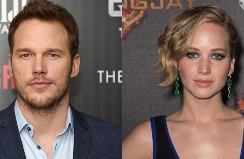 Jennifer Lawrence Had To Get Drunk Before Her Sex Scenes With Chris Pratt