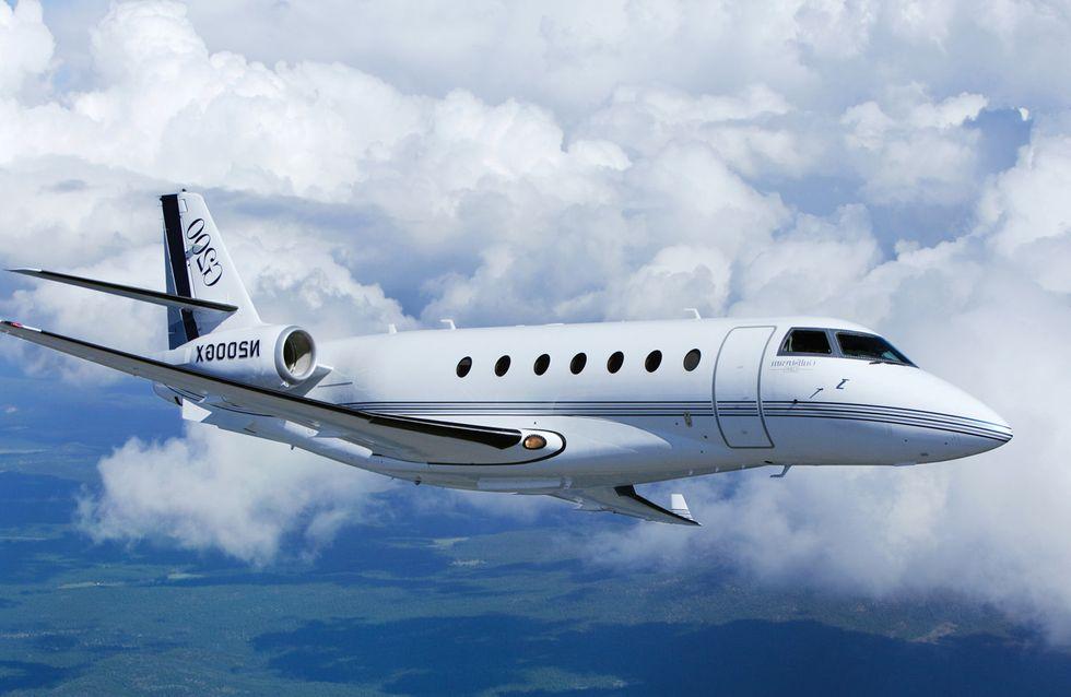 El jet privado de Cristiano, ¿el mejor del mercado?