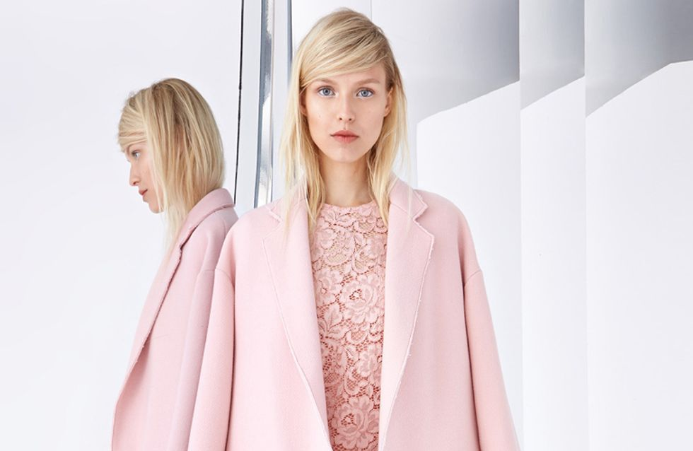 Inverno rosa! Scopri la tendenza colore più bella per i cappotti e i look da copiare
