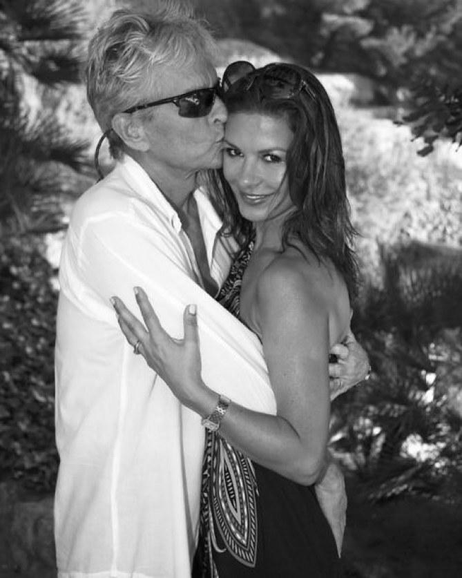 Michael Douglas et Catherine Zeta-Jones.