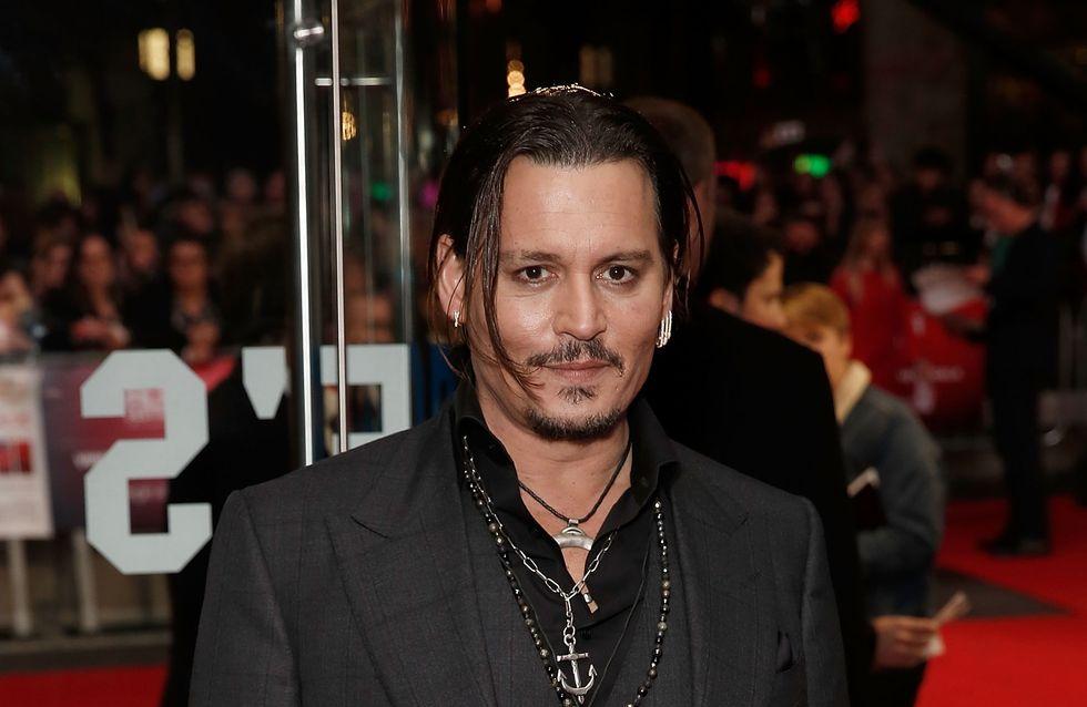 Johnny Depp se confie sur sa fille Lily-Rose et Vanessa Paradis