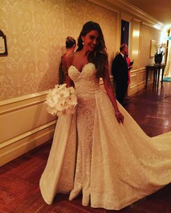 Sofia Vergara dans sa robe de mariée Zuhair Murad