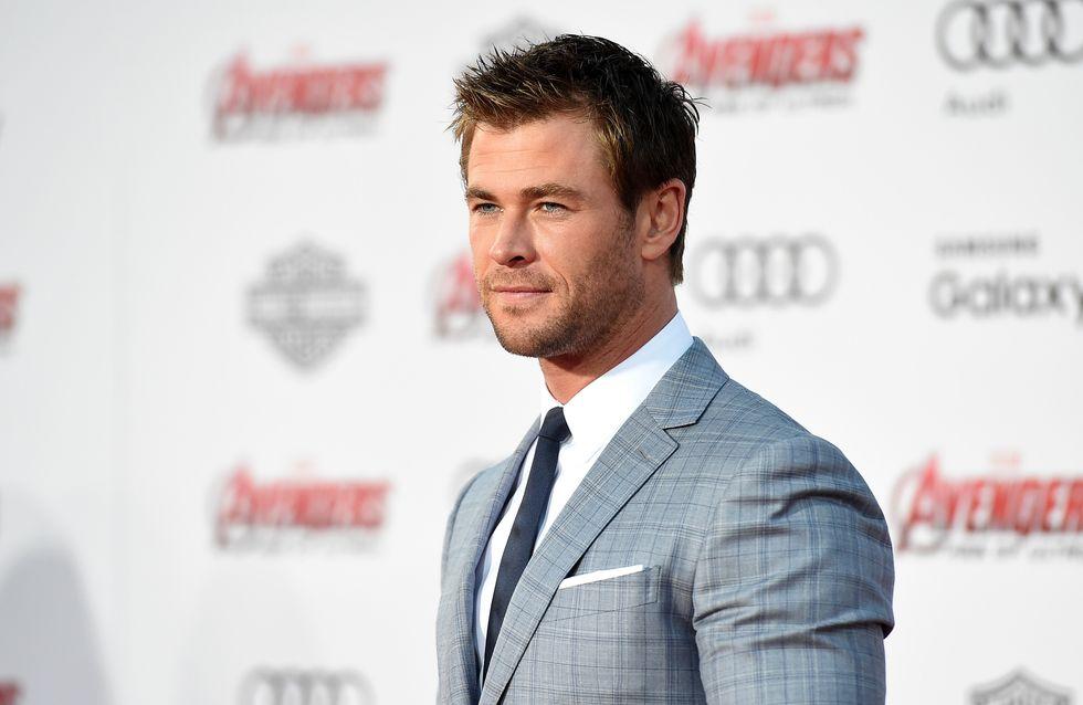 L'impressionnante transformation de Chris Hemsworth pour son nouveau film (Photo)