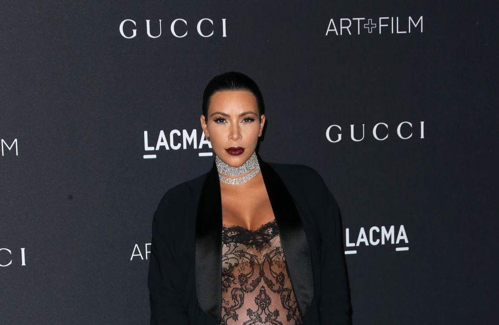 Kim Kardashian se confie sur la fin de sa grossesse