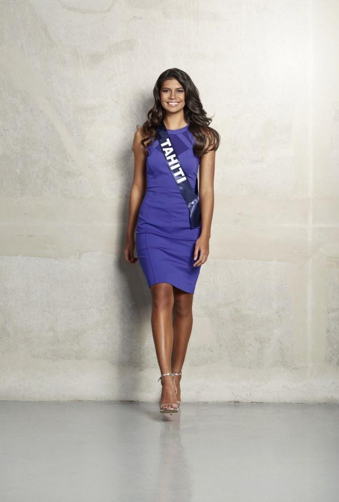 Vaimiti Teiefitu, Miss Tahiti 2015, candidate pour Miss France 2016