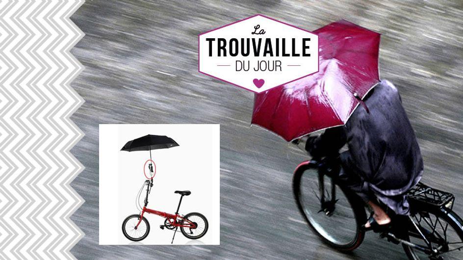 On veut un parapluie de vélo pour circuler écolo