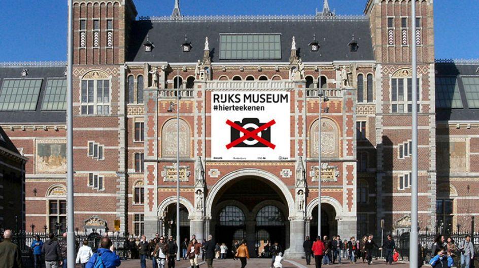 Museu proíbe visitantes de tirar fotos – ao invés disso, eles podem desenhar as obras!