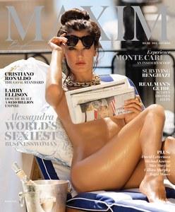 Alessandra Ambrosio pour Maxim
