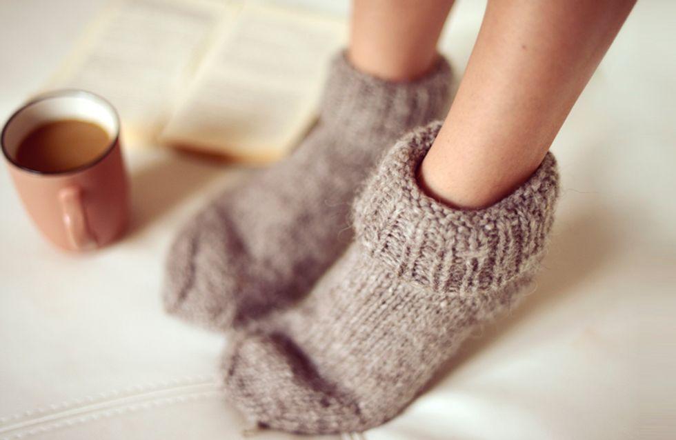 Nie mehr Eisklumpen im Bett! 10 ultimative Tipps gegen kalte Füße
