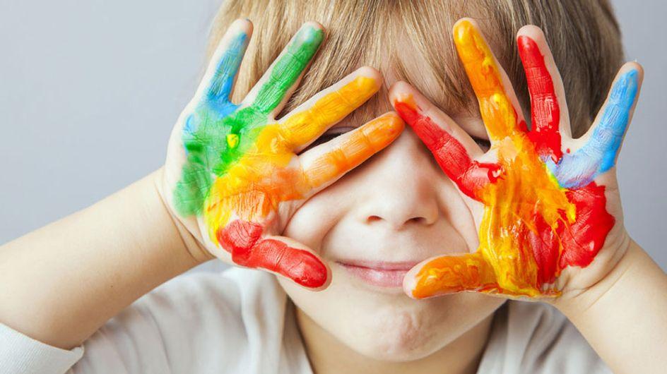 Detectan metales tóxicos en diez marcas de pintura para dedos