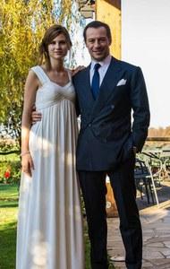 Bianca e Stefano nel giorno delle nozze
