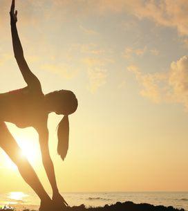 Training & Wellness in einem: 6 Yoga-Übungen für straffe Beine und einen festen