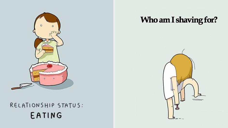 Traurig, aber wahr! Diese 10 Bilder beschreiben das Single-Dasein perfekt