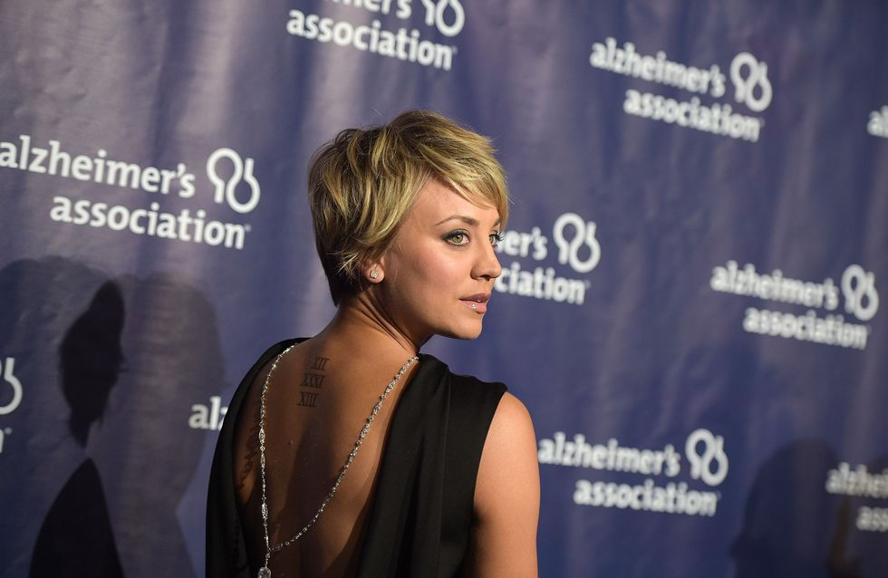 Kaley Cuoco dit adieu à son tatouage de mariage (Photo)