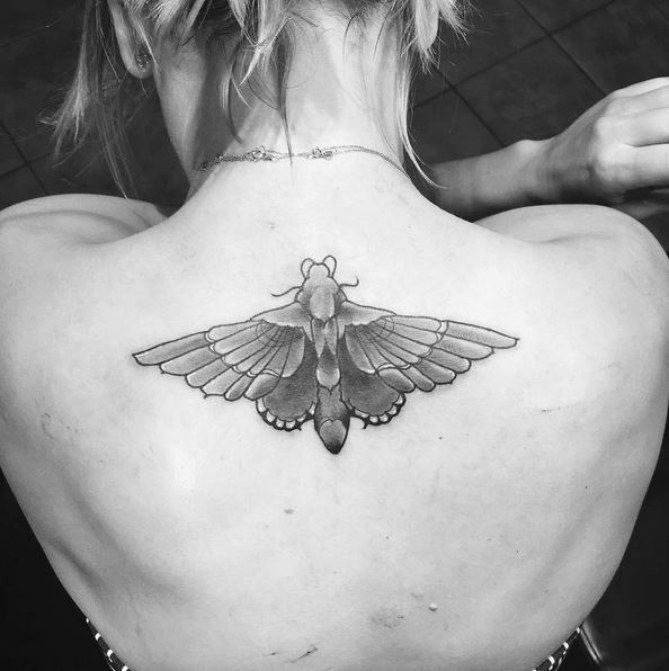 Le nouveau tatouage de Kaley Cuoco