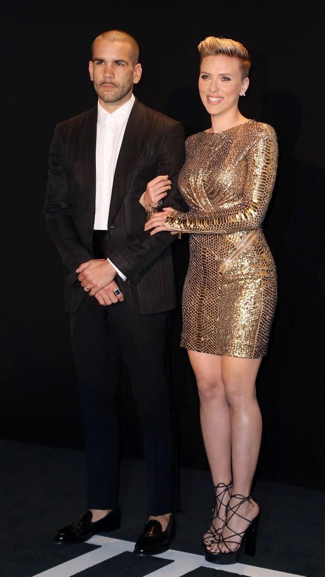 Scarlett Johansson et Romain Dauriac