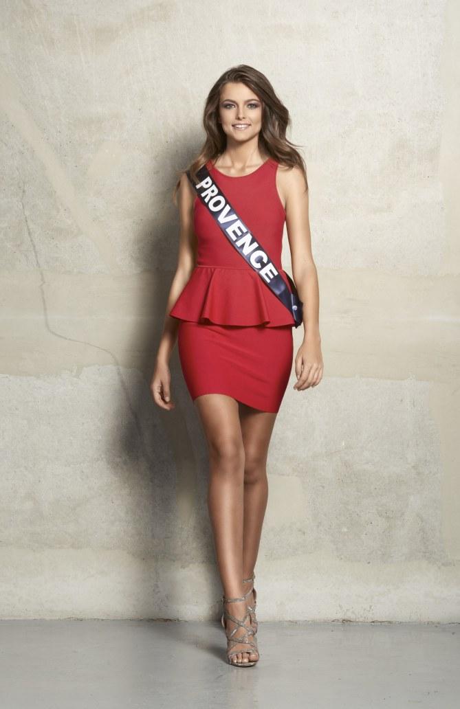 Julia Courtes, Miss Provence 2015