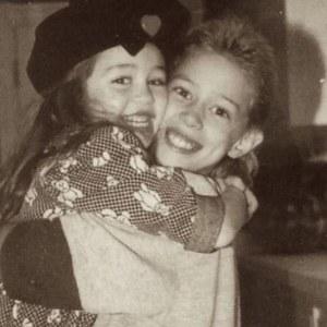 Miley et Trace Cyrus.