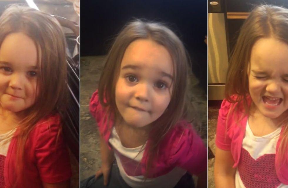 Als sie erfährt, dass sie NOCH einen Bruder bekommt, flippt dieses kleine Mädchen völlig aus