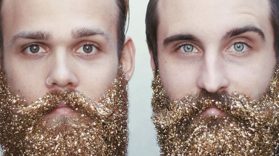 Guys Are Decorating Their Beards With Glitter And It's Pretty Epic
