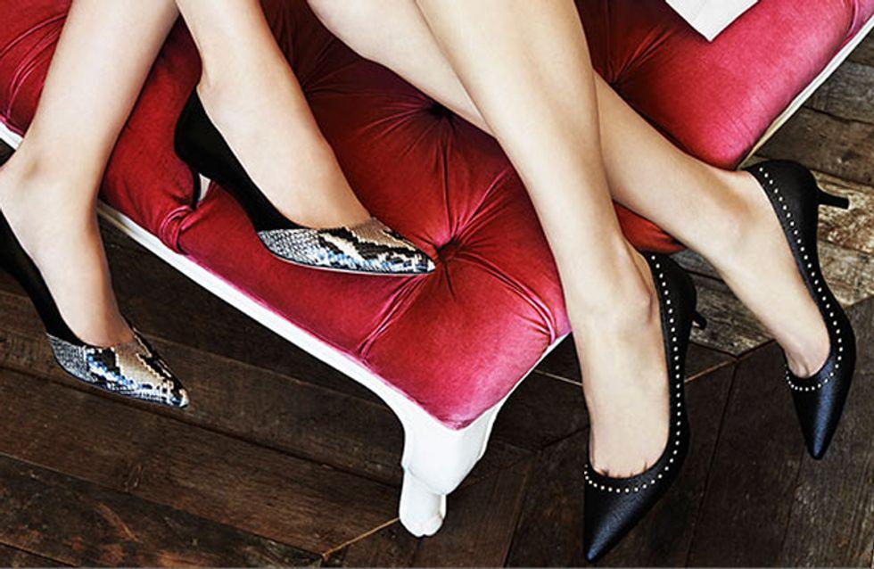 Scopri le scarpe con il tacco basso che ti faranno fare una bella figura senza soffrire troppo!