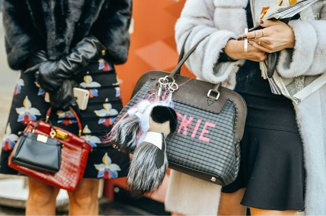 Asistentes a la Paris Fashion Week