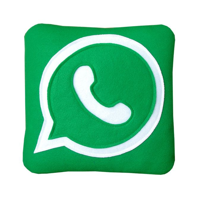 WhatsApp Kissen