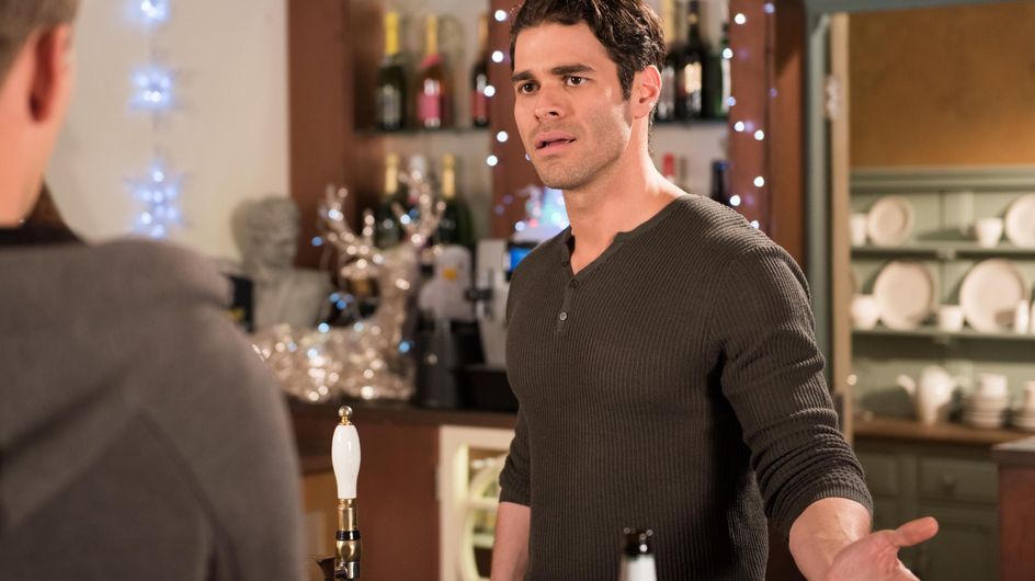 Hollyoaks 10/12 - Celine and Reenie are stunned when Harry tells them about Cleo