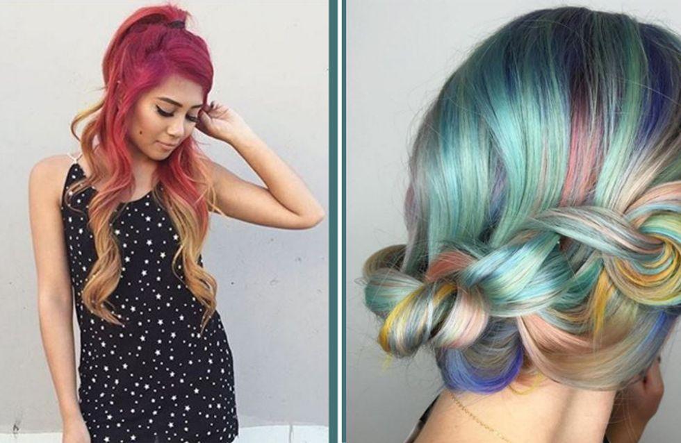 Wir bekennen Farbe! Die neuen Haartrends werden kunterbunt