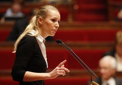 Marion Maréchal-Le Pen à l'Assemblée.