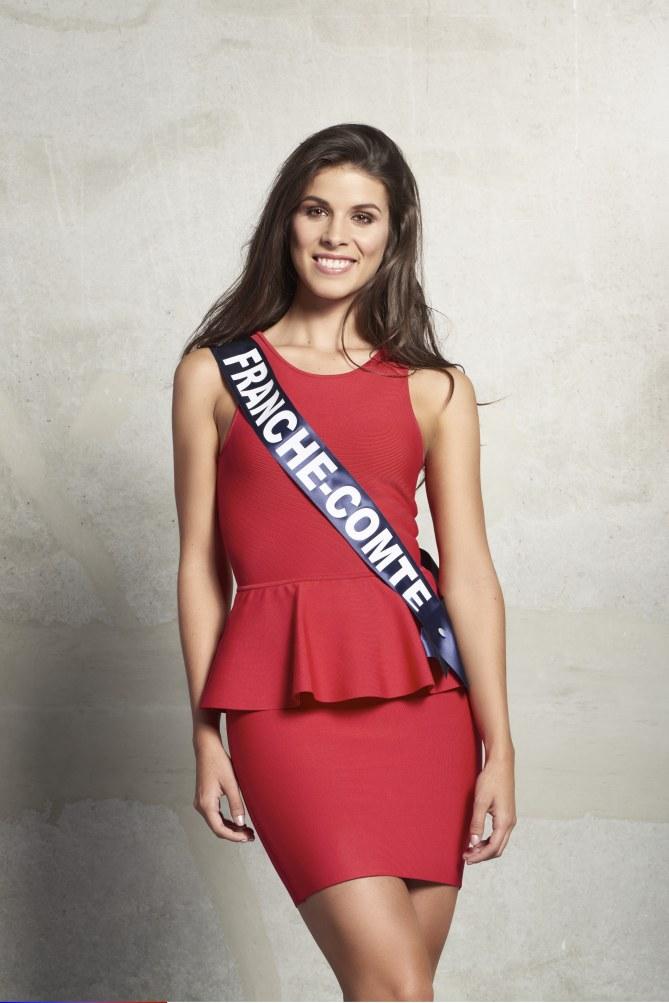 Alizée Vannier, Miss Franche-Comté 2015