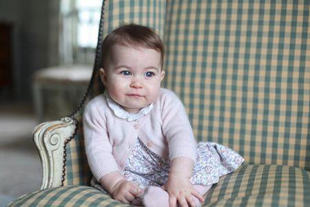 Les nouvelles photos de la princesse Charlotte de Cambridge