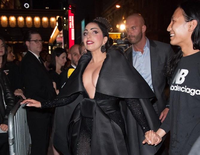 Peter Van der Veen et Lady Gaga.