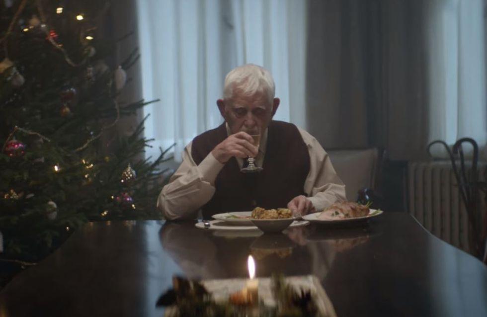 Dieser alte Mann verbringt jedes Weihnachten einsam - doch in diesem Jahr kommt alles anders
