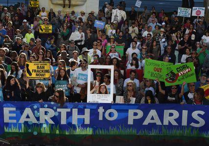 La marche pour le climat à Los Angeles