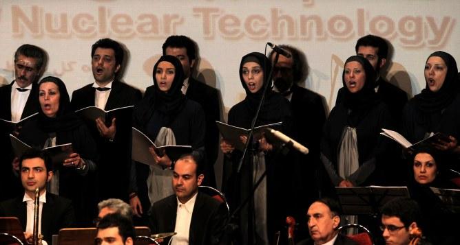 Un orchestre iranien.