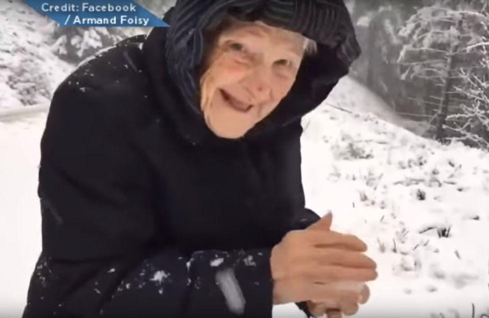 Diese 101-jährige Oma springt aus ihrem Auto - und beweist uns, dass Alter auch nur eine Zahl ist