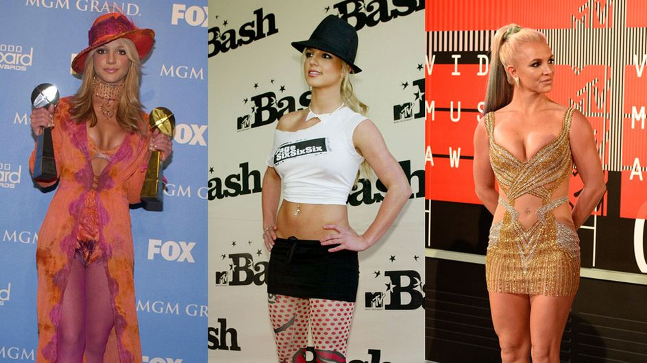 Retour sur les pires looks de Britney Spears (Photos)