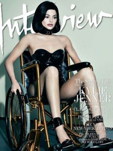 Kylie Jenner pour Interview