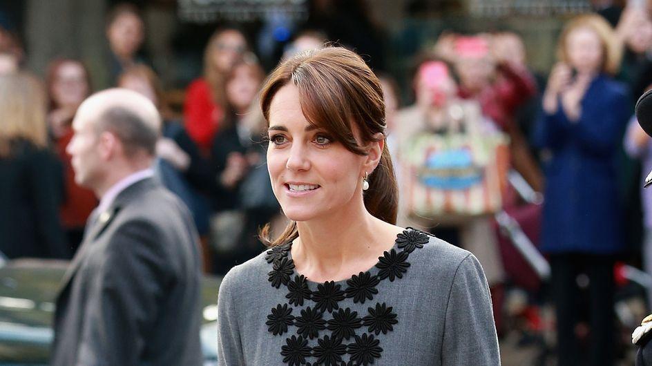 Kate Middleton relookée par la mère de Cara Delevingne