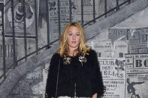 Ludivine Sagnier au défilé Chanel Paris à Rome 2015/2016
