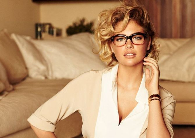 Kate Upton con cate eyes