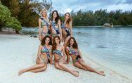 Miss France 2016 : Les Miss posent en bikini (Photos)