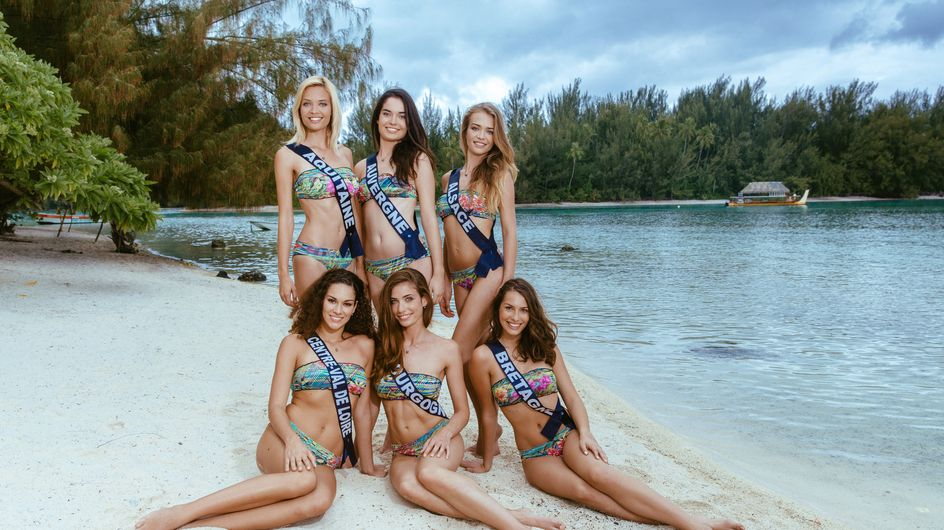 Miss France 2016 : Les Miss posent en bikini (Photos)