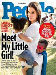Sandra Bullock pour People.