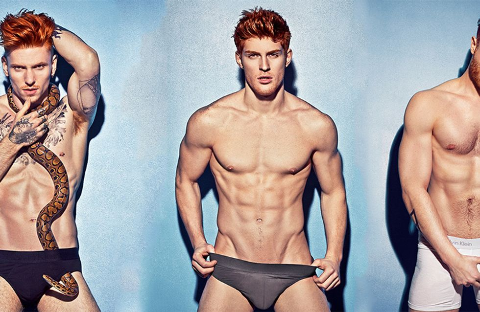 This Redhead Calendar Is Making Gingers The New Sexy