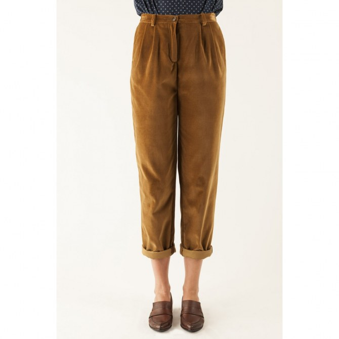 Pantaloni di velluto Lazzari